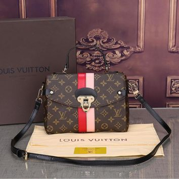 LOUIS VUITTON Leather LV Bag