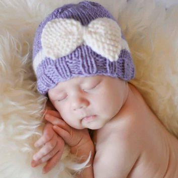 Free Shipping 0-12 Months Newborn Baby Girl Boy Knitting Wool Hats Winner Infant Toddler Crochet Hat Photography Prop Hat Cap