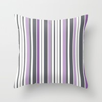 purple haze. Throw Pillow by Pink Berry Patterns