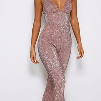 Margie Sequin Jumpsuit