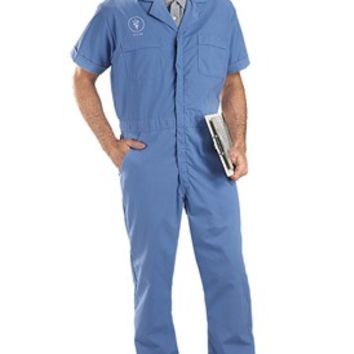 Short Sleeve Coveralls | Veterinary Apparel | Work Apparel