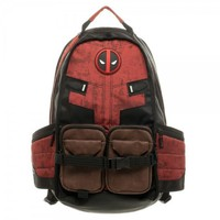 Marvel Deadpool Laptop Backpack Good Quality Unisex School Bags Travel Bag Cosplay Backpacks