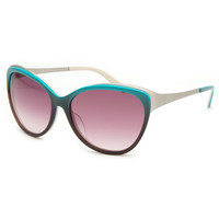 Ivi Daggerwing Sunglasses Aqua Fade/Rose Gradient One Size For Women 21707824001