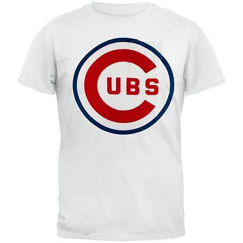 a3ec5a14d Chicago Cubs - Logo The Heavy Vintage Pocket Adult T-Shirt