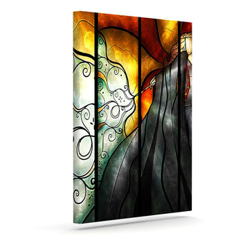"Mandie Manzano ""Expecto Patronum"" Harry Potter Canvas Art"