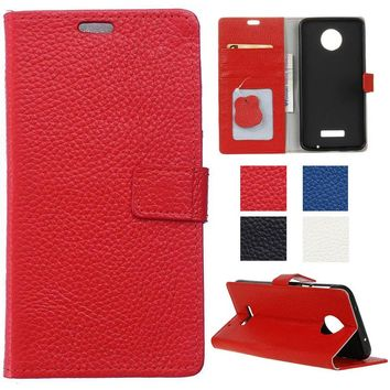 Real Leather Protective Cover Case For Motorola Moto E 2nd Gen 4G LTE XT1505 E3 Power G4 Plus X Play Style G5 Mobile Phone Shell