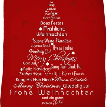 ROFB Christmas Around the World Fleece Blanket