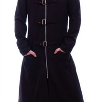 Necessary Evil Mens Woolen Highwayman Coat