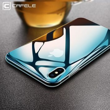 CAFELE Soft Silicon case For iPhone 5 5s SE 6 6s 7 8 plus X Ultra Thin Fashion Transparent Back case Cover For iPhone cases