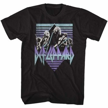 DEF LEPPARDING IT-BLACK ADULT S/S TSHIRT