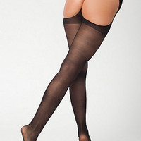 Sheer Luxe Cut-Out Pantyhose