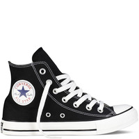 Converse Unisex Chuck Taylor All Star High Top Sneakers Black/White 4 D(M) US