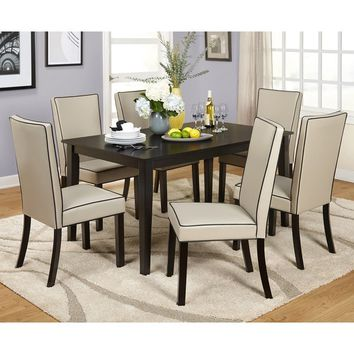 Simple Living Giana Parson Dining Sets | Overstock.com Shopping - The Best Deals on Dining Sets