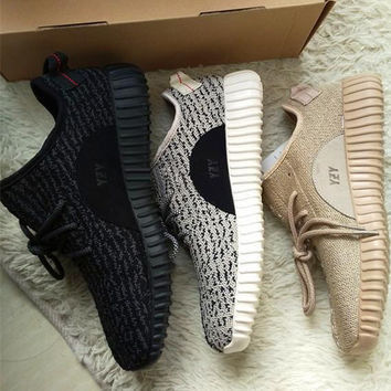 """Adidas"" Women Yeezy Boost Sneakers Running Sports Shoes (3-color)"