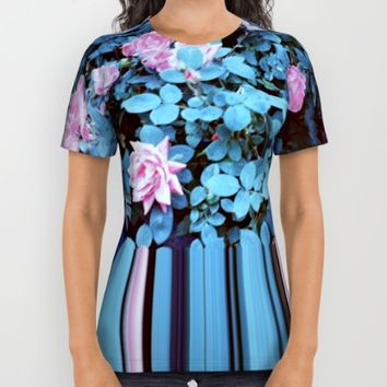 Flower Power All Over Print Shirt by Dirtydigital