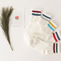 Casual 5Pcs Straps Socks Gift 01