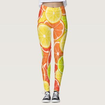 Citruses Leggings