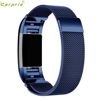 Hot-sale Smart Watch Clock Band Replacement Milanese Stainless Steel Smart Men's Watches Band Strap Bracelet For Fitbit Charge 2