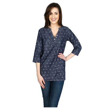 Classic Tunic in Chambray Anchors by Hatley - FINAL SALE