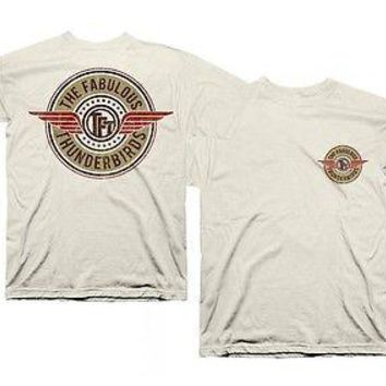 The Fabulous Thunderbirds Classic Wings Officially Licensed Adult T-Shirt S-2XL