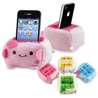 Insten Cell Phone Holder, Cartoon Plush