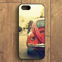 Red Volkswagen Old iPhone 5S Case