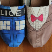 Doctor Who Toms by PoppyBouquet on Etsy