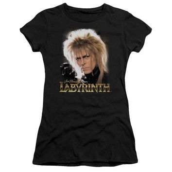 Labyrinth - Jareth Short Sleeve Junior Sheer Shirt Officially Licensed T-Shirt