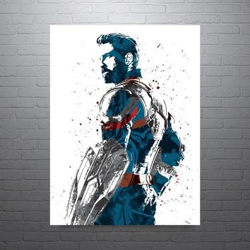 Captain America The Avengers Infinity Wars Poster