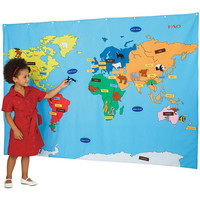 FAO Schwarz Big World Map - FAO Schwarz®