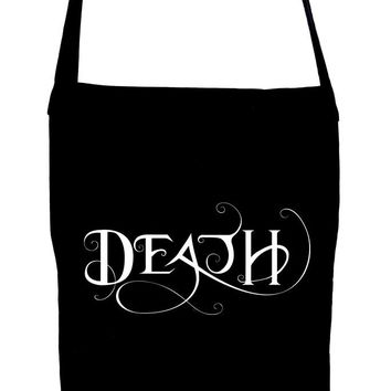 Death Being the End Crossbody Sling Bag Occult