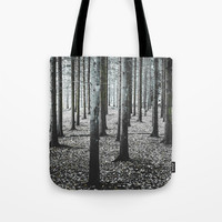 Coma forest Tote Bag by happymelvin