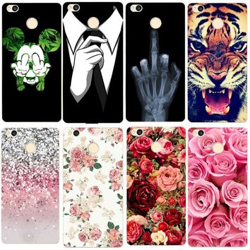 Case For Xiaomi Redmi 4X Note 4 mi a1 5x max 2 Case Cartoon TPU Back Cover Case For Xiaomi Redmi 4 Pro 4A Case Silicon Phone Bag