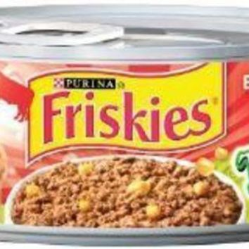 MDIGYN5 Friskies Tasty Treasures Pate Beef-Liver-Cheese 24-5.5oz