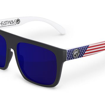 Regulator Sunglasses: Stars & Stripes Traditional USA Customs