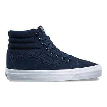 Vans SK8-HI Weave DX(Suede)Dress Blue