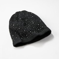 Simply Vera Vera Wang Beaded Knit Hat