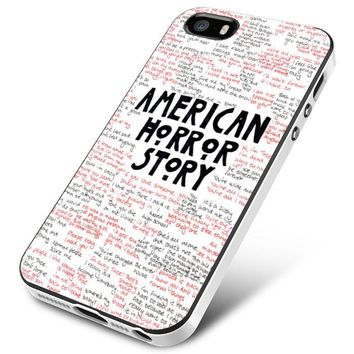 American Horror Story Evan Peter iPhone 5 | 5S | 5SE Case Planetscase.com