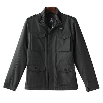 Chaps Lightweight Cargo Jacket