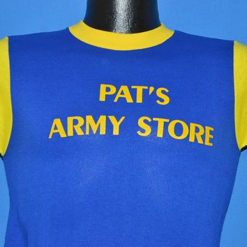 70s Pat's Army Navy Store Jersey t-shirt Youth Large