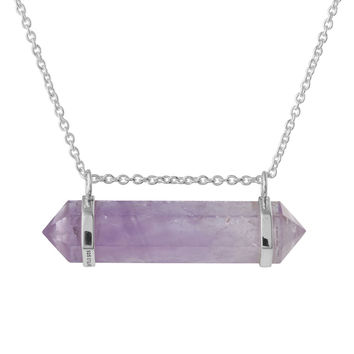 Lifting The Veil Crystal Necklace