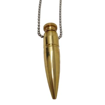 .50 cal Bullet Urn Necklace | 50 CALIBER Real Bullet Jewelry