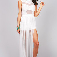 Venus Veil Maxi Dress | Sexy Maxi Dresses at Pinkice.com