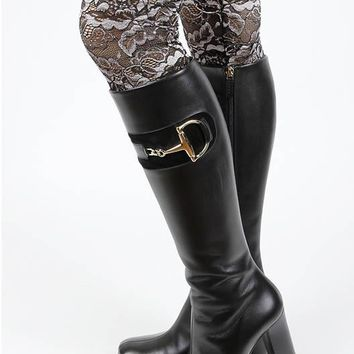 LEG WARMER TWO TONE LACE BOOT TOPPER 7 INCH LONG