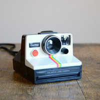 Vintage 1970s Polaroid Rainbow Camera SX-70