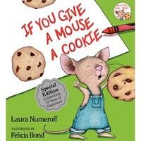 Toddler Laura Numeroff 'If You Give a Mouse a Cookie' 25th Anniversary Edition Book