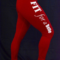 FFAB Red Compression Leggings