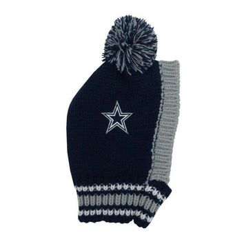 PEAPYW9 Dallas Cowboys Pet Knit Hat