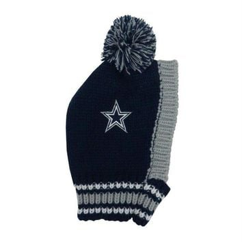 ESBONI Dallas Cowboys Pet Knit Hat
