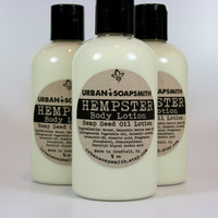 Hemp Body Lotion, Hempster, Body Lotion, Hemp Seed Butter Lotion, Hemp Lotion, Moisturizer
